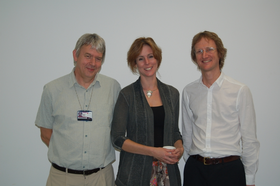 The convenors and Kate