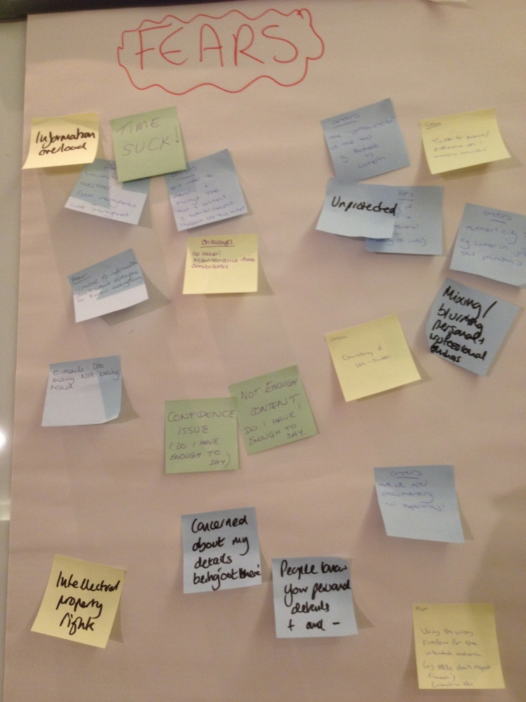 Social media for researcher developers: what's in it for me? #vitae12 (2/3)