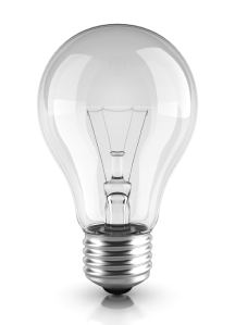 Having a light bulb moment?