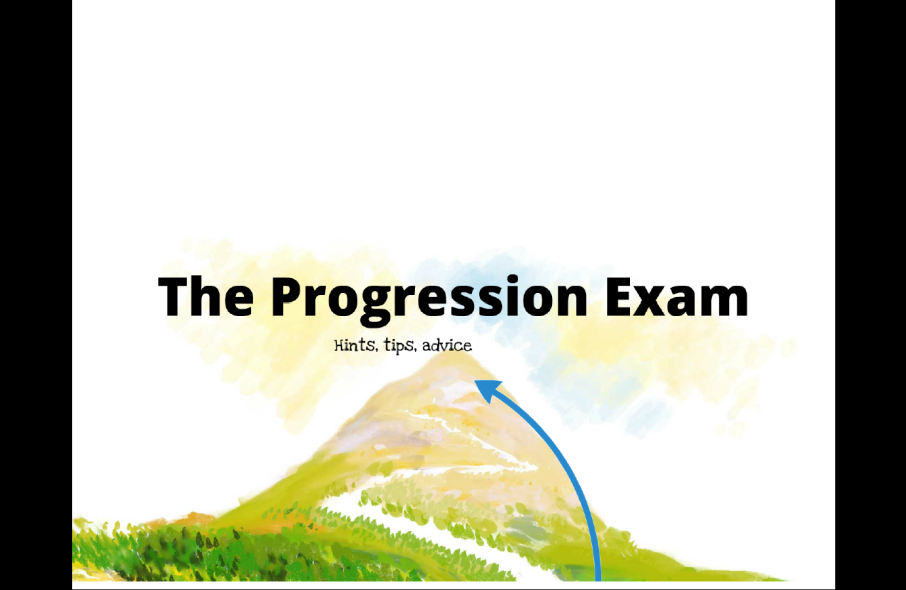 Progression exam prezi