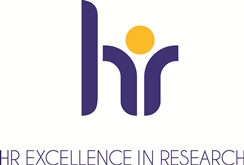 The logo for the European Commission HR Excellence in Research Award