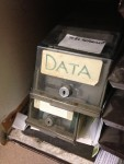 data by Janet McKnight flickrthedigitaldoctoratePreserving data